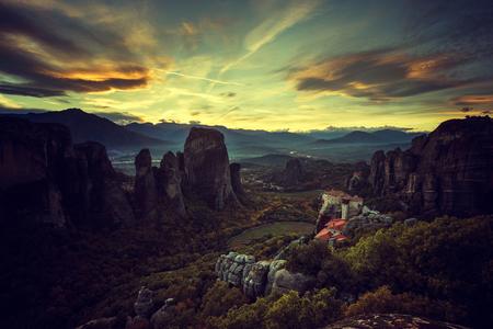그리스의 메테오라 수도원