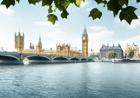 Big Ben and Houses of Parliament, London, UK Stockfoto