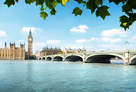 Big Ben and Houses of Parliament, London, UK Stock Photo