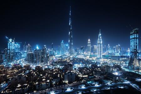 Dubai skyline, United Arab Emirates Sajtókép