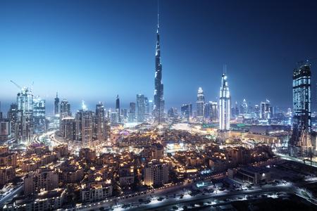 Dubai skyline, United Arab Emirates Stock fotó