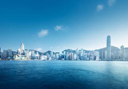 Hong Kong harbour Standard-Bild
