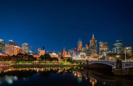 Yarra River, Melbourne, Victoria, Australia Stock Photo - 139939237