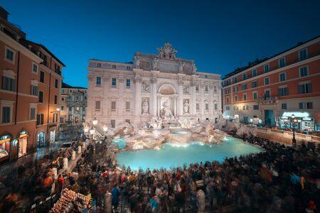 Trevi fountain, Rome Stock fotó