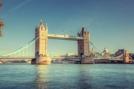 Tower Bridge in London, UK Stock fotó