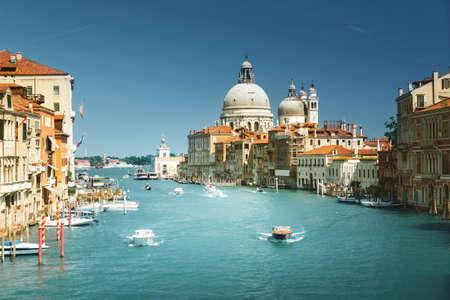 Basilica Santa Maria della Salute, Venice, Italy 写真素材 - 155740784