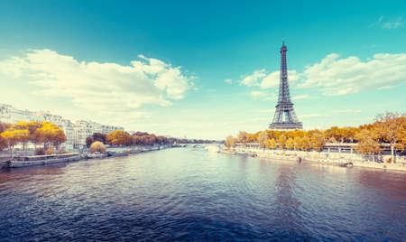 Eiffel tower in Paris. France 写真素材 - 155318137