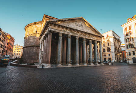 Pantheon in Rome, Italy 写真素材 - 155556861