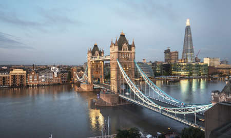 Tower Bridge in London, UK 写真素材 - 155556959