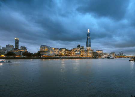 London Cityscape at sunset time, UK