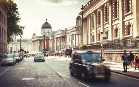 streets of London, sunset time, UK Reklamní fotografie