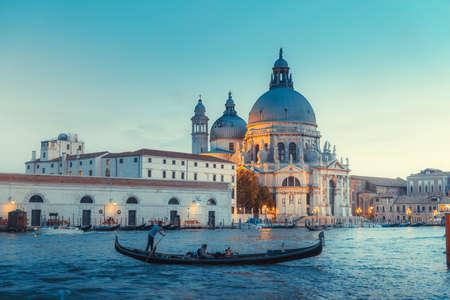 gondolas in Venice, Italy. Editorial