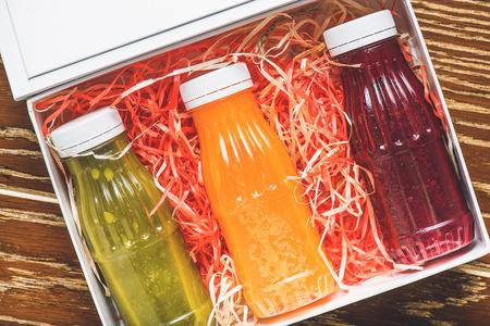 Tasty fresh juice for present