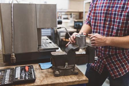 壊れた機械の特別ワーク ショップ