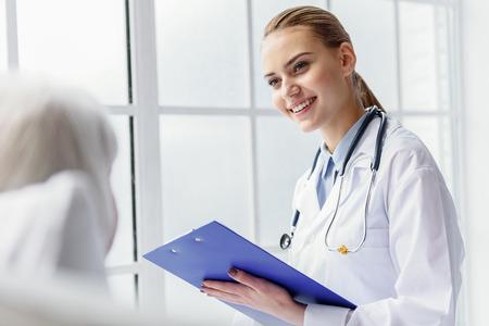pensioner: Doctor asking about general state of pensioner