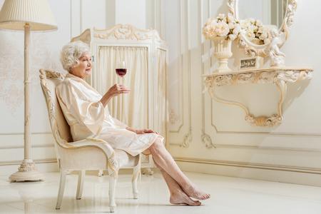 Rich old lady