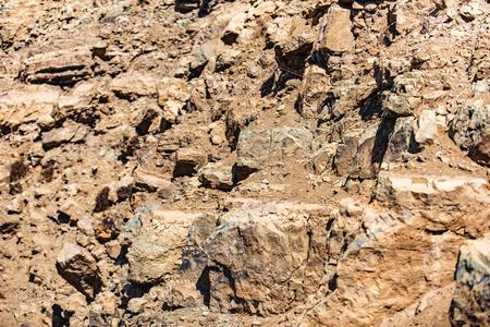 Severe Iranian rocks under sun