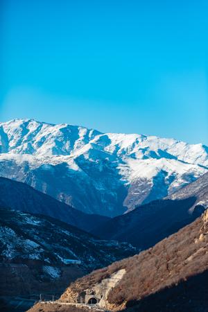 Breathtaking view of Iranian mountains Stock Photo