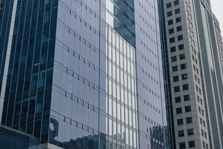 Mirror building locating in Chicago