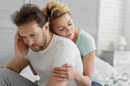 Sterk huwelijk zal alle moeilijkheden overleven Stockfoto