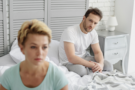 Frustrated married couple had serious quarrel