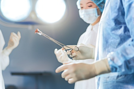 Medical stuff in operating theatre
