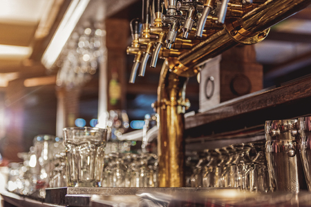 alehouse: Equipment for making alcohol situating in alehouse