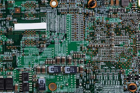 System microcircuit with transistors and resistors Stock fotó
