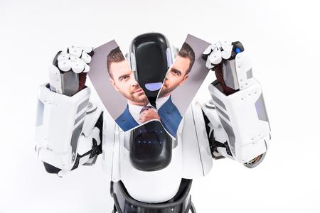 Machine is rippen foto van de man