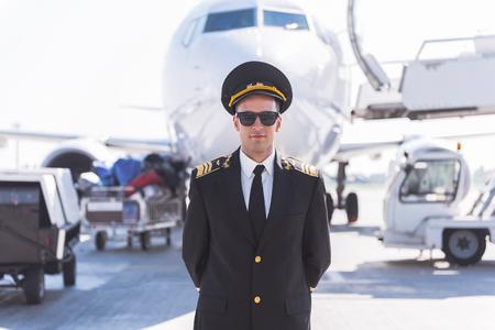 Confident airman ready for flight