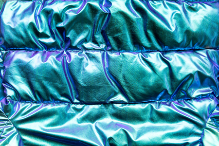 Close up smooth elegant blue luxury cloth texture using as background Stock Photo