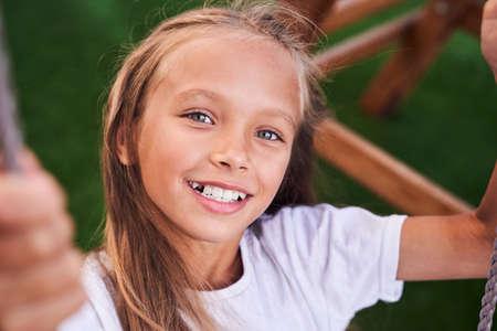 Face of a beautiful little girl