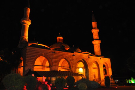 edirne: Old Mosque in Edirne Stock Photo