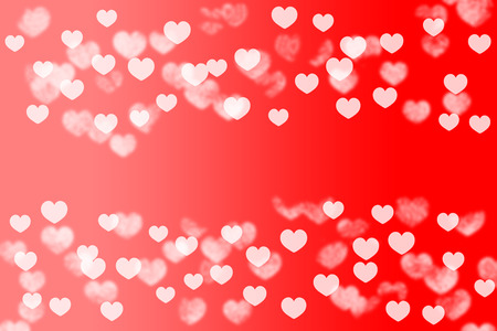 out of focus: abstract red and pink out of focus heart texture for Valentine\ Stock Photo