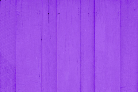 painted wood: purple painted wood plank background Stock Photo