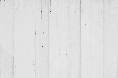 painted wood: white painted wood plank background Stock Photo
