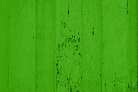 painted wood: green painted wood plank background