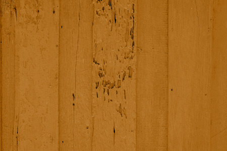 painted wood: orange painted wood plank background