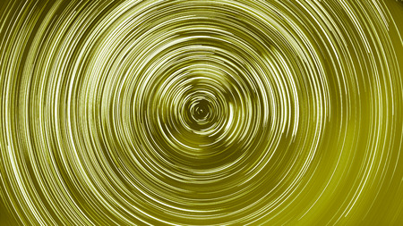 colorized: abstract long exposure of star trails yellow colorized background Stock Photo