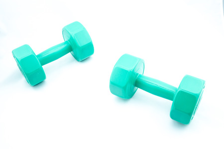 dumbell: This is Dumbell 3 kg with isolate background