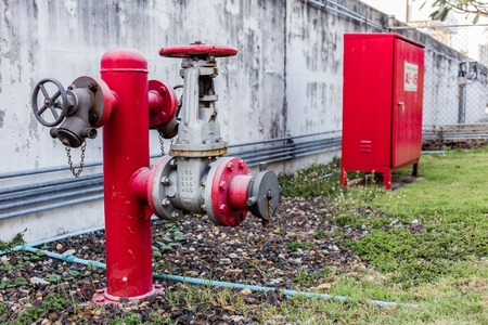 fire hydrant: fire hydrant and hydrant hose box