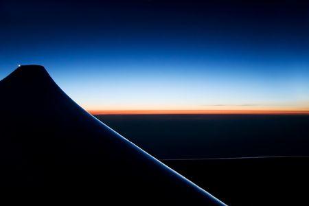 水平線の日の出