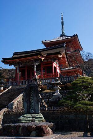 京都市で人気のある寺。 写真素材