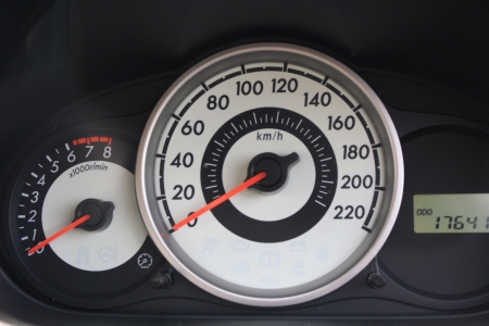 mileage: Need for speed Stock Photo