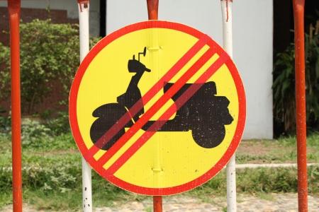 No motorbike parking