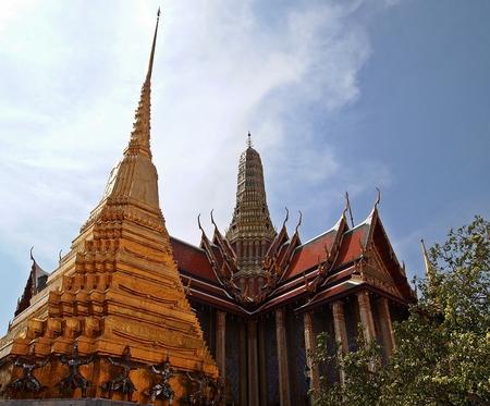 Wat Phra Kaew: Temple of the Emerald Buddha at Wat Phra Kaew Grand Palace Bangkok