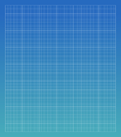 Blauwdruk architechture vector lijnraster Stock Illustratie