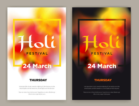 gulal: Beautiful Indian festival Happy Holi celebrations. Background for banner, card, poster, poster