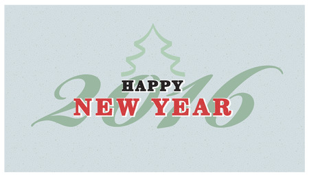 retro christmas: Vintage christmas sign text. retro Christmas card Illustration