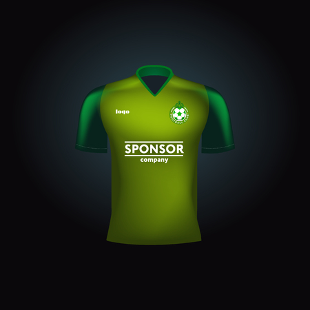 jersey: green jersey Illustration
